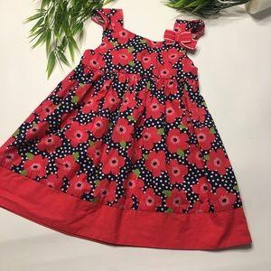 Gymboree Toddler Girls Size 3T Pink Floral Dress